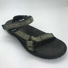 Teva 8 Sandals Womens Green Black
