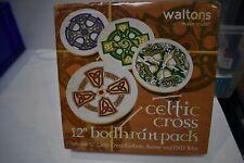 "Waltons Irish 12"" Celtic Cross Bodhran Drum Beater DVD"