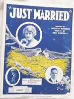 Just Married,Mathews & Kendall,1921.JC Williamson, *AUS ed* Frame.Artprint