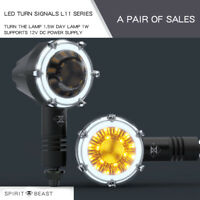 SPIRIT BEAST Motorcycle Led Turn Signal Flasher Light for Harley suzuki BMW KTM