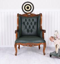 Fauteuil à Oreilles Anglais Chaise Fauteuil Vintage Sofa Lounge Neuf