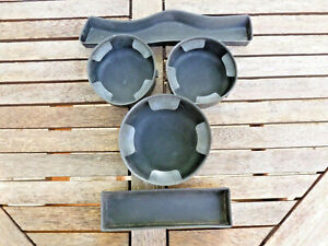 02 03 04 05 06 07-09 Chevy TrailBlazer Rubber Console Set Cup holder Inserts 5pc