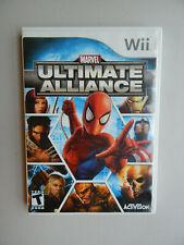 Marvel: Ultimate Alliance Game Complete! Nintendo Wii
