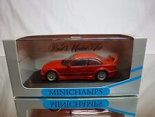 MINICHAMPS BMW M3 E36 - STREET 1993 - RED 1:43 RARE - VERY GOOD CONDITION IN BOX