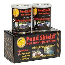 Pond Armor Pond Shield Aquatic Epoxy Sealer Kit 1.5 qt, Black -pool-rubber