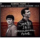 Gabriel Faure - Fauré - 5: Sonates 1 & 2; Berceuse; Romance; Andante (2014)