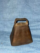 Vtg Copper Cowbell ~ Great Sound Loud Farmhouse Shabby Chic Decor, Great Patina