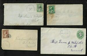 1889-1918 U.S. Special Cancels Covers Group