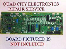 TNPA5335BJ, AJ REPAIR SERVICE SC Board TC-P50GT30 4,6,7,10,14 Blinks + Screws