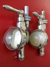Doseur alcool ancien de bar en bronze nickelé  Gaskell & ChambersOptic Pear
