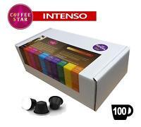 100 Coffeestar Intenso 100% Arabica Nespresso Ristretto compatible capsules
