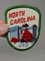North Carolina State Capitol Shirt Jacket Hat Travel Patch Travel Souvenir VTG