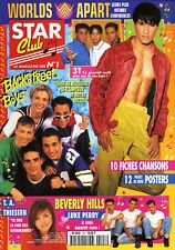 Magazine STAR CLUB n° 107, W.A, BOYZONE, 90210, G SQUAD, BACKSTREET BOYS, 3T