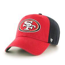 df296e67 NFL San Francisco 49ers Team 2 Tone Flagstaff '47 Clean Up Adjustable Hat  Cap