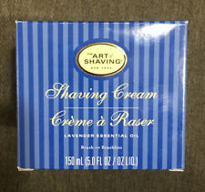 THE ART OF SHAVING Shaving Cream Lavender 5oz Brand New In Box FREE SHIPPING