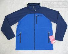 NWT NORTH FACE Boys Shellrock Soft Shell Zip Jacket XL 18/20 Snorkel Blue/Cosmic