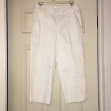 Tahari Mulberry Crop Slim Leg Mid Calf Crop Pants Size 4 - NEW W/ TAGS