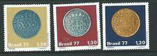 BRAZIL SG1676/8 1977 COLONIAL COINS  MNH