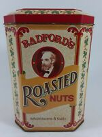 Radford's Roasted Nuts Collectible Tin Case Manufacturing Co. England 1982