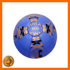 5 KG SLAM BALL MEDICINE CROSSFIT FITNESS GYM WEIGHTS EXERCISE CORE TRAINING HMX