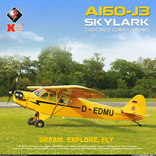 A160 RC Airplane 5CH Brushless 3D 6G Mode Upside Down RC Stunt Aircraft Toy Gift
