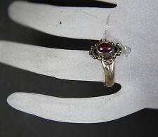 Lovely Ruby Ring- Sterling – Fluoresces LW UV