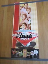 Beach Boys Good vibrations box set promo poster 15x36