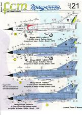 FCM Decals 1/32 DASSAULT MIRAGE IIIEBR Fighter Brazilian Air Force