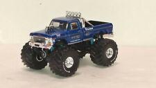 dcp/greenlight blue Bigfoot f250 monster truck new no box 1/64 #2.