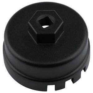 Oil Filter Caps For Toyota & Lexus 4 Cylinder Prius Matrix Rav4 Auris (Black)