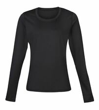 Abbigliamento sportivo da donna nero manica lunga taglia 42