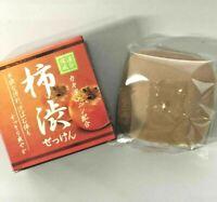 Persimmon tannin combination soap Moisturizing formula 80g Shipping from Japan