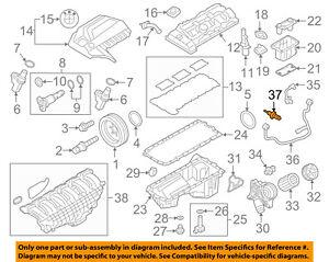 BMW OEM 14-15 i3-Coolant Temperature Sensor 13627580635