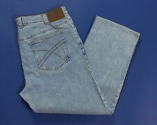John Baner jeans wear w44 tg 58 uomo blu straight fit regular driti usati T2015