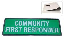 Comunità primo responder Riflettente Univisor (Sole Visiera) Per Paramedico Ambulanza 999