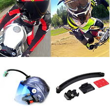 Self-Arm Mount Holder Helmet Extension For Gopro Hero 4/3/3+ Camcorder Camera FE