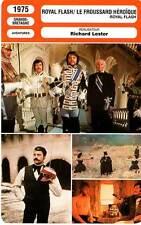 FICHE CINEMA : ROYAL FLASH,LE FROUSSARD HEROIQUE - McDowell,Bates,Lester 1975