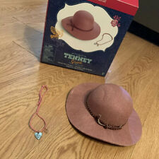 Retired American Girl Doll Tenney's Hat and Necklace with Box