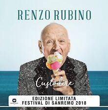 """Custodire [Vinile 7"""" 45 giri colorato] [lp_record] Rubino, Renzo"""