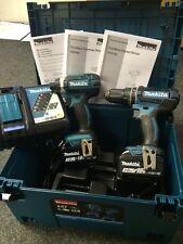 Makita DLX2131JX Twin Pack DHP482 Combi + DTD152 Impact Driver + 2 Batteries