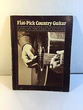 Vtg Happy Traum's FLAT-PICK COUNTRY GUITAR 1973 Oak Publications PB Music