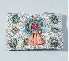 Anthropologie Beaded Clutch. NWT.