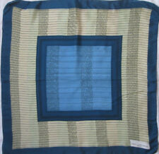 -Superbe Foulard  TED LAPIDUS 100% soie  TBEG vintage scarf 68 x 71 cm