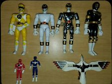 Bandai Mighty Morphin Power Rangers 8 Inch Action Figures Lot Of 7 1993,95,96,