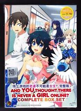 *NEW* AND YOU THOUGHT THERE IS NEVER A GIRL ONLINE?*ENG SUBS*ANIME DVD*US SELLER