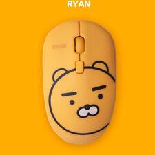 Kakao Friends Wireless Silent Mouse Portable Light Weight Nice Grip Ryan Apeach