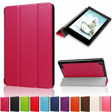 For Amazon Kindle Fire 7 2017 HD10 HD8 Magnetic Flip Leather PU Stand Case Cover