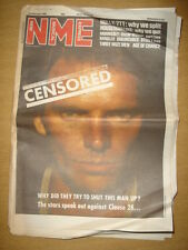 NME 1988 FEB 20 STING HOUSEMARTINS BANGLES SUGARCUBES