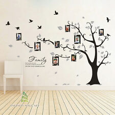 Wall Stickers Family Tree Photo Frame Quotes Art Murals Decals Vinyl Decor  P508 Teal Please Message