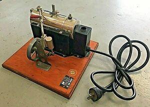 Vintage Jensen USA No. 70 Steam Engine Toy Antique
